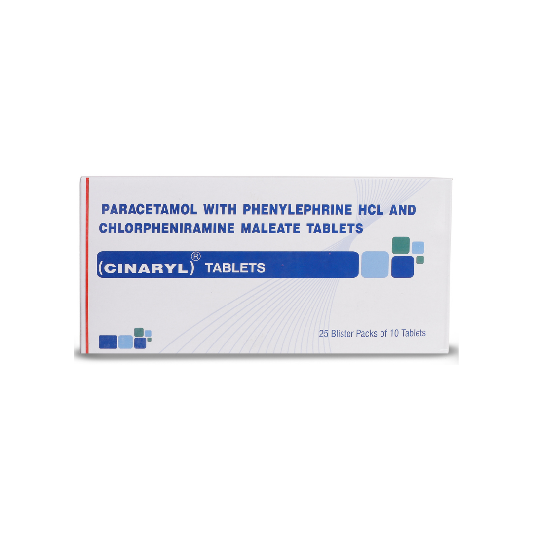 CINARYL Tablets